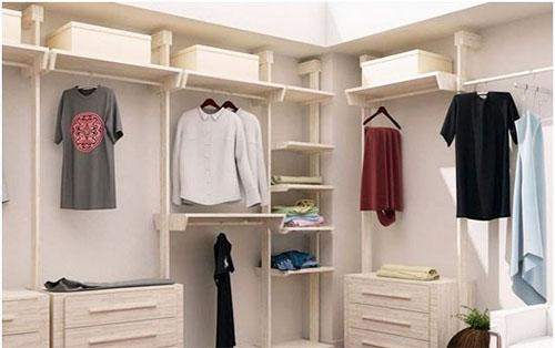 昆明装饰之衣柜样式造型