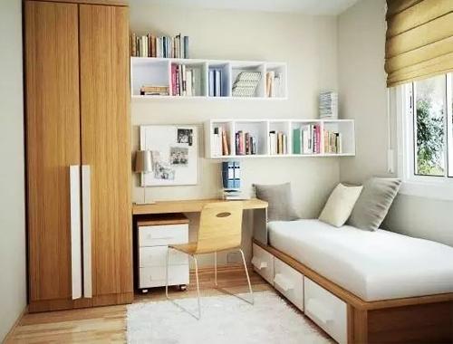 小户型装修打造小书房的技巧